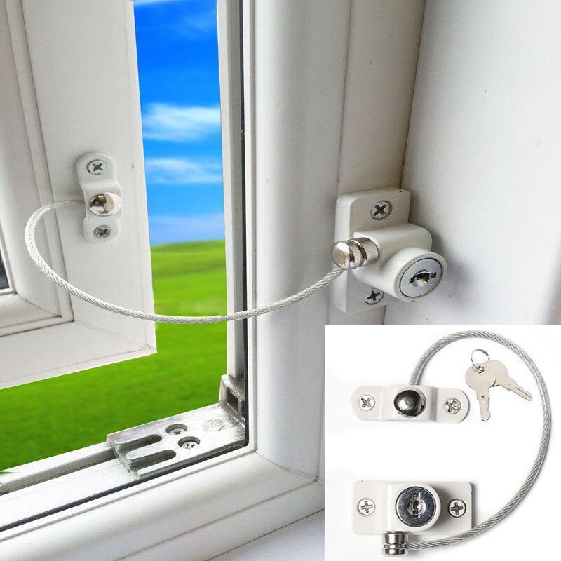 Acheter Bébé Sécurité Serrure Porte Fenêtre Câble Ventilateur