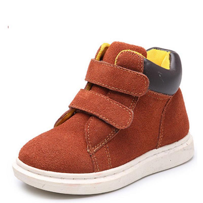 Acheter 2018 Enfant Bottes De Neige Chaussures Pour Filles Garçons Bottes  Mode Fond Mou Bébé Filles Boot Size23 37 Automne Hiver Enfants Bottes  Chaussures ... 3c87e4551d2a