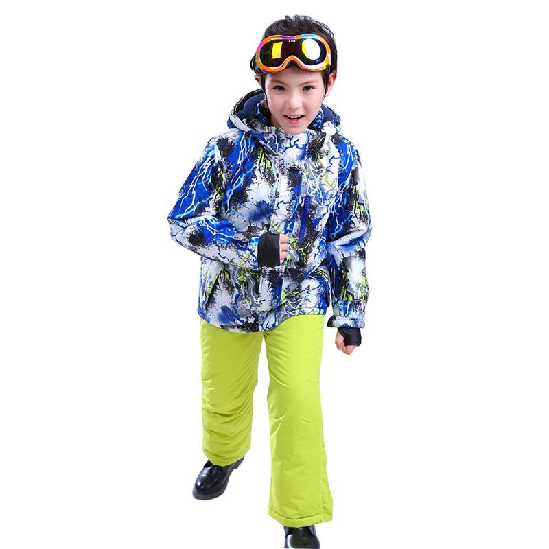 9697a5f8d Winter New Children s Warm Jacket Windproof Waterproof Padded Single ...