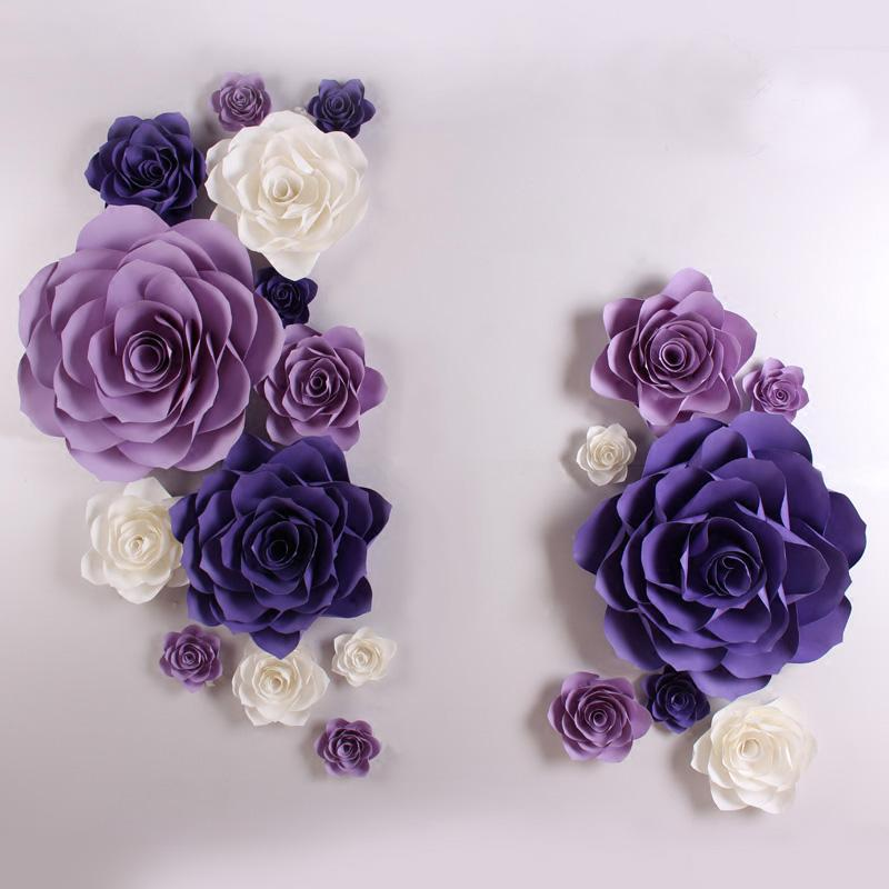 Large simulation cardboard giant paper rose flowers showcase wedding large simulation cardboard giant paper rose flowers showcase wedding backdrops props flores artificiais para decora o 4 options online with 31146piece on mightylinksfo