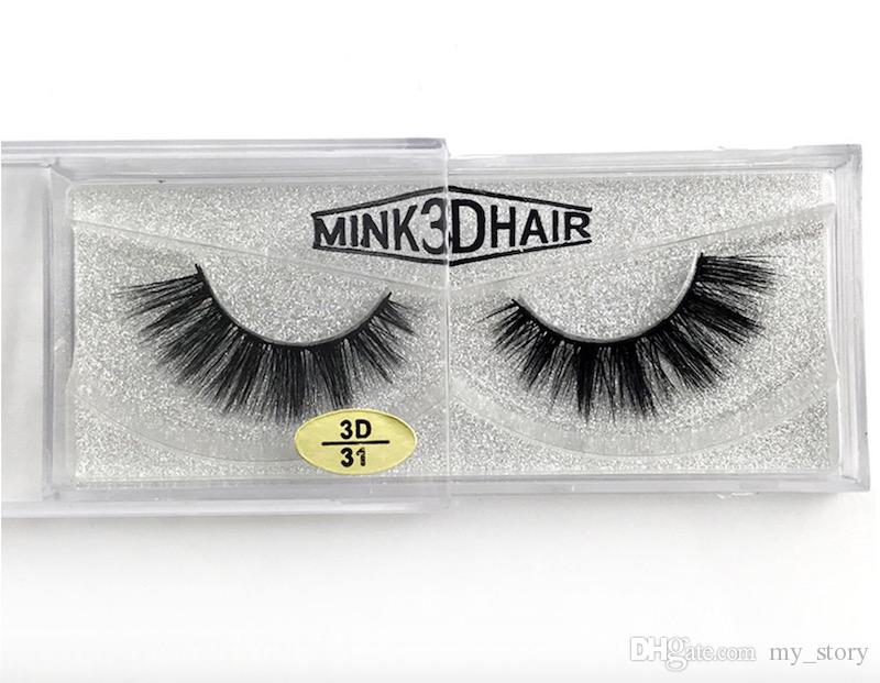 12 styles Selling 100% Real Siberian 3D Mink Full Strip False Eyelash Long Individual Eyelashes Mink Lashes Extension free DHL