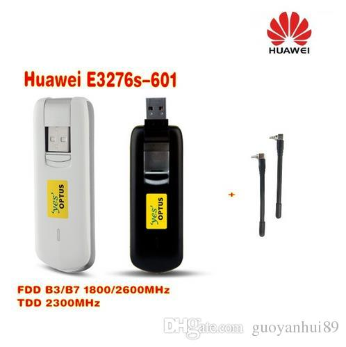 Unlocked LTE FDD 2600MHz Huawei E3276 E3276s E3276S-601 150mbps Wireless  modem plus 2pcs 4g antenna