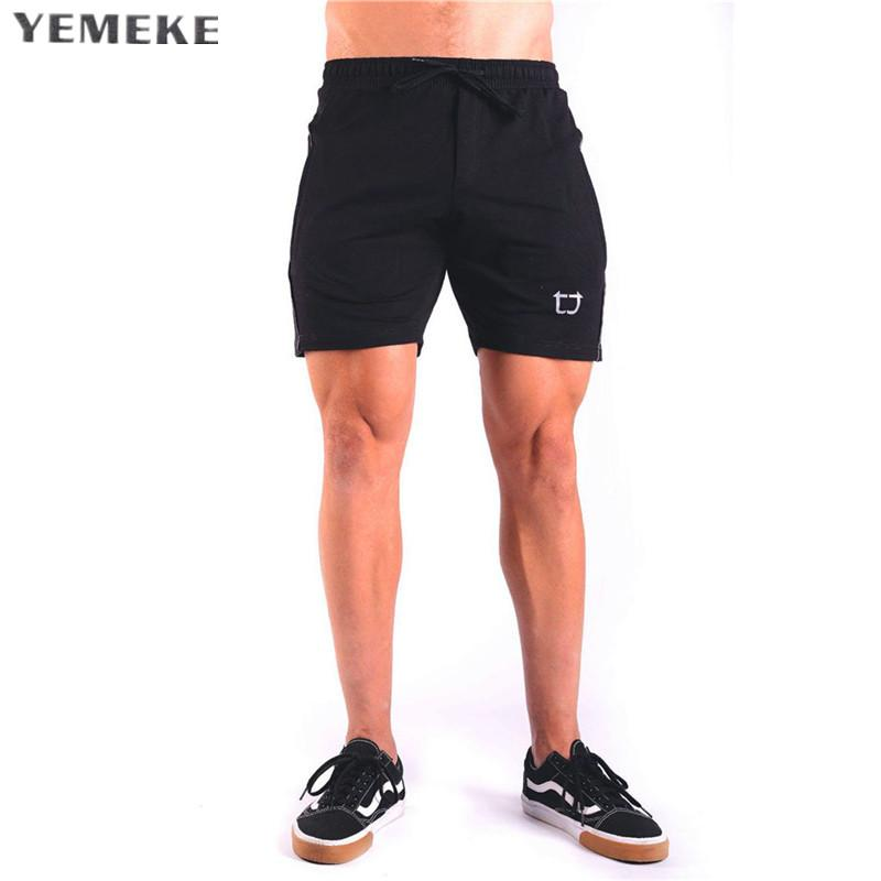 b59ea4acd61 Acheter Nouveaux Gymnases Sporting Shorts Hommes Bermuda Hommes Court Homme  2 Modèles Casual Marque Vêtements Élastique Taille Gymnases Shorts De   27.02 Du ...