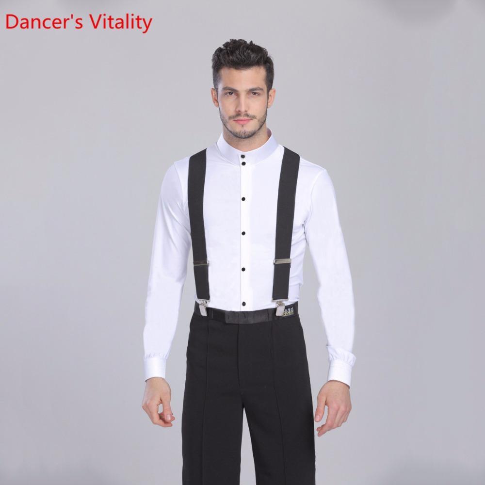 c83fd8325 2018 New Arrival Shirt Men's Ballroom Dancing Jacket Ballroom Dance With  Long Sleeve Adult Contemporary Dance Latin Costume
