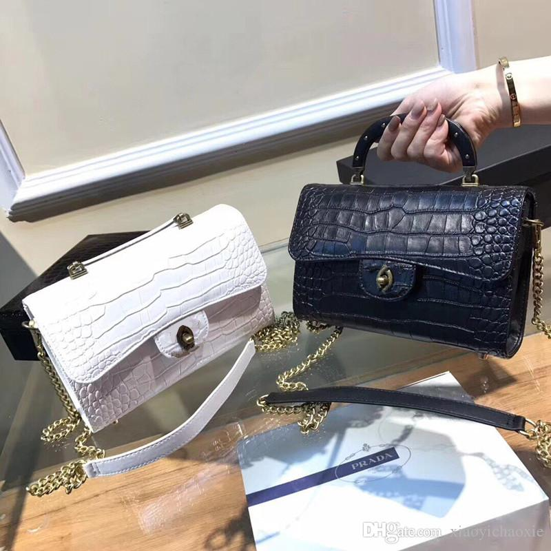 a0470c6193b3 2018 Famous Designer Women Handbags Shoulder Bags Designer White Backpack  Designer Crossbody Bag Luxury Black Messenger Bag Discount Designer Handbags  ...