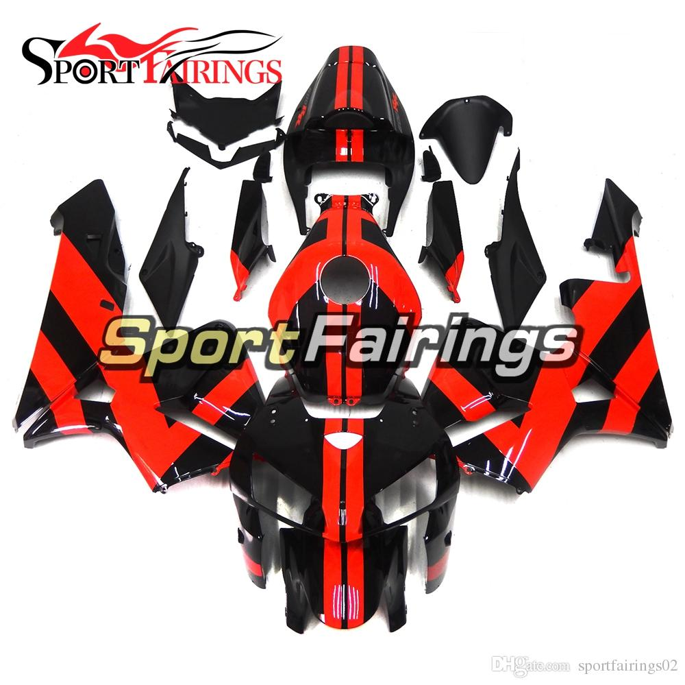 Red Black Fairings For Honda Cbr600rr 2005 2006 Cbr600 Rr 05 06 Injection Abs Plastic Motorcycle Fairing Kit Body Kit Carenes Hulls Covers