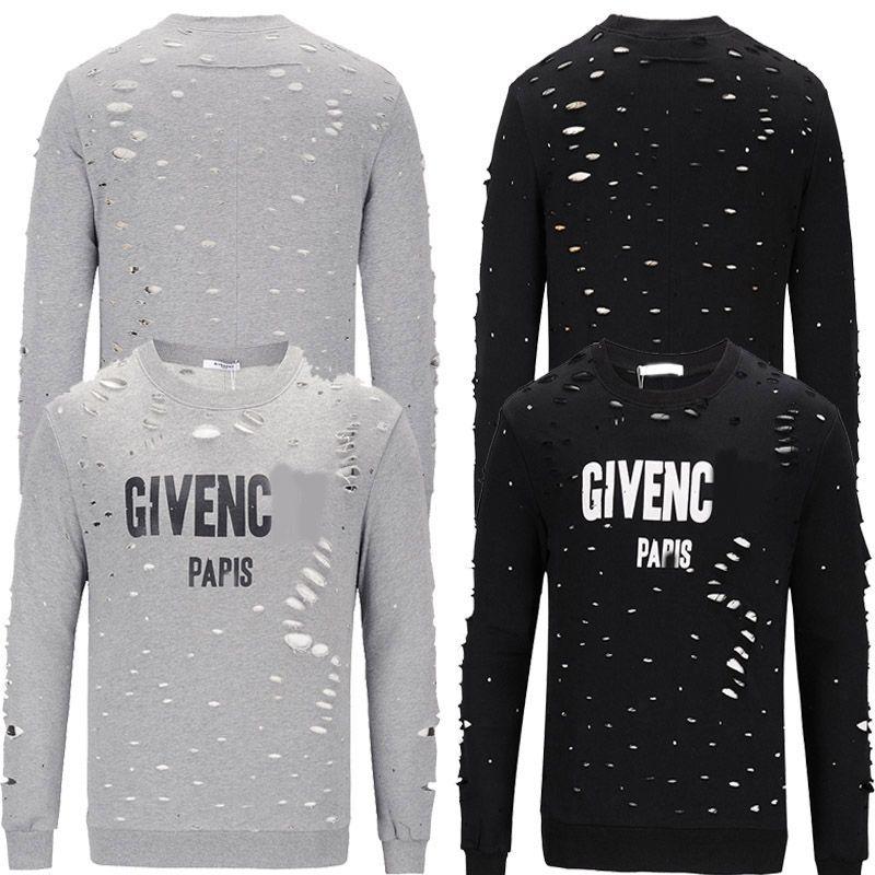 44f473ba6f2 New Hip Hop Men s Sportswear Sweatshirt Letter Printing Casual Long ...