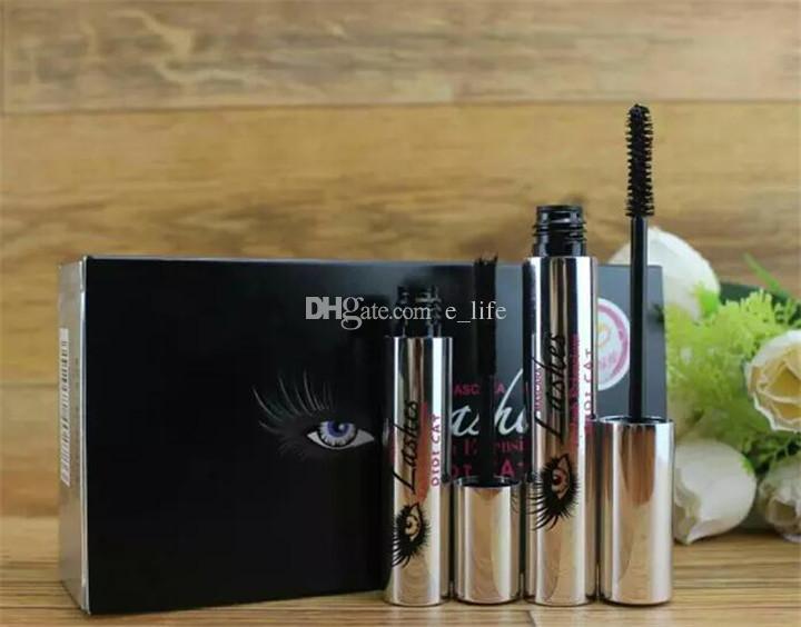 El más nuevo DiDi Cat 4D Mascara DIDI Cat Lashes Eyelash Extenisions con fibra DDK Mascara Envío gratis