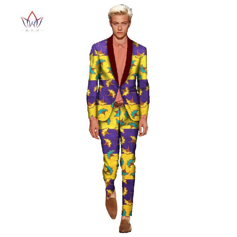 2019 African Clothes For Men Linen Suits Men Plus Size 6XL Jacket+ ... 8c44227354c4
