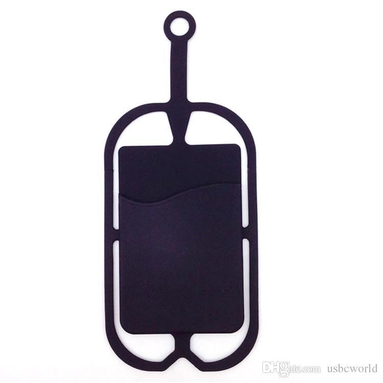 Silikon Lanyard Smartphone / Kartenhalter Moblie Phone Straps Handyhalter Sling Halskette Wrist Strap