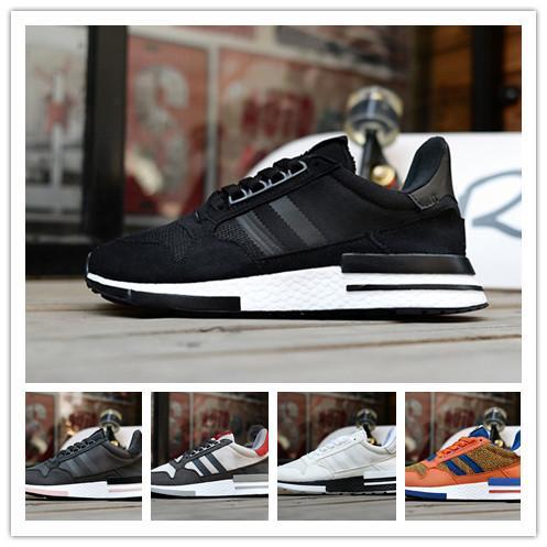 d1dd078643898 Compre ZM500 RM Sapatos De Designer De Calçados Originais Zm500 Rm Esporte  Ao Ar Livre Marca De Malha De Malha Das Mulheres Dos Homens Tênis Branco  Preto ...