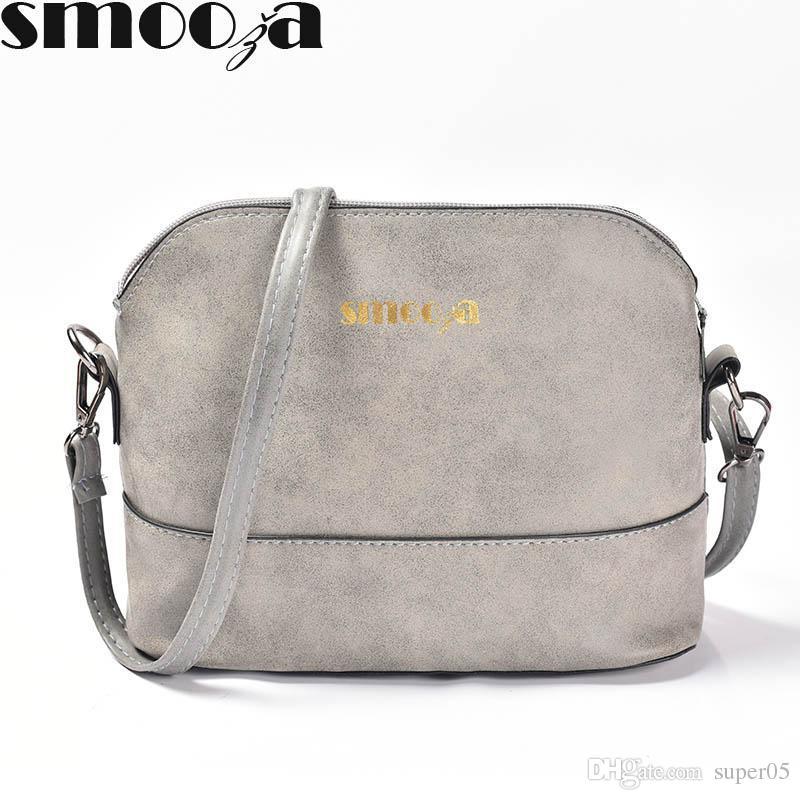 360b277853f3c Satın Al Yeni Moda Kadın Messenger Çanta Fırçalama Kabuk Çanta Nubuk Deri  Küçük Crossbody Çanta Omuz Womens Üzerinde Çanta, $4.3 | DHgate.Com'da