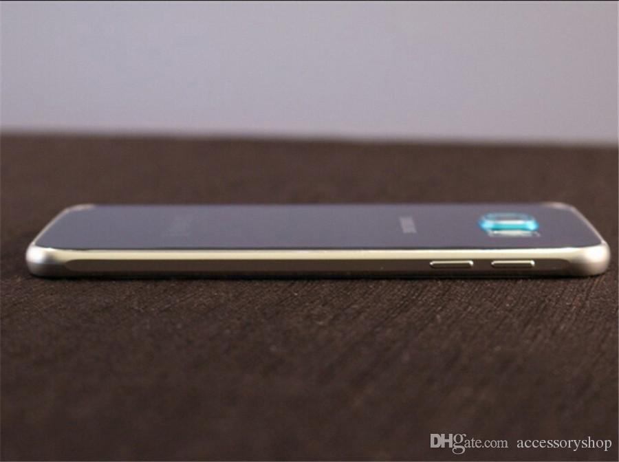 DHL reformado original para Samsung Galaxy S6 G920F G920A G920V G920T 5.1 pulgadas del teléfono celular Octa Core 3 GB de RAM 32 GB ROM 16.0MP 4G LTE Android