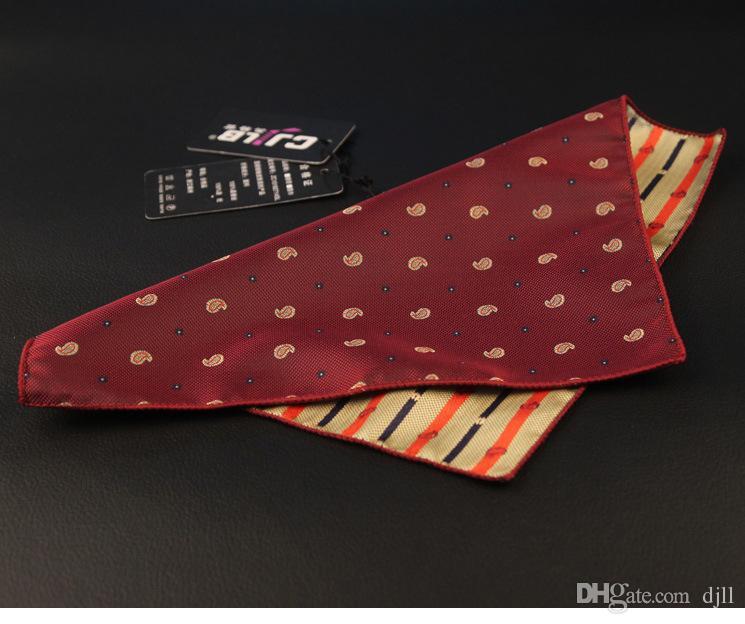 Venta al por mayor Trajes de hombre Pañuelos dot Pocket Square Hankies Men's Business Casual bolsillos cuadrados Hanky Pañuelo Accesorios de moda