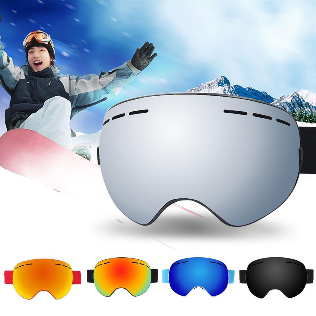 46d4642cb09 New Ski Goggles Men Women Double Lens Anti-fog Skiing Eyewear Snow Glasses  Adult Skiing Snowboard Goggles 2018 Skiing Eyewear Cheap Skiing Eyewear New  Ski ...