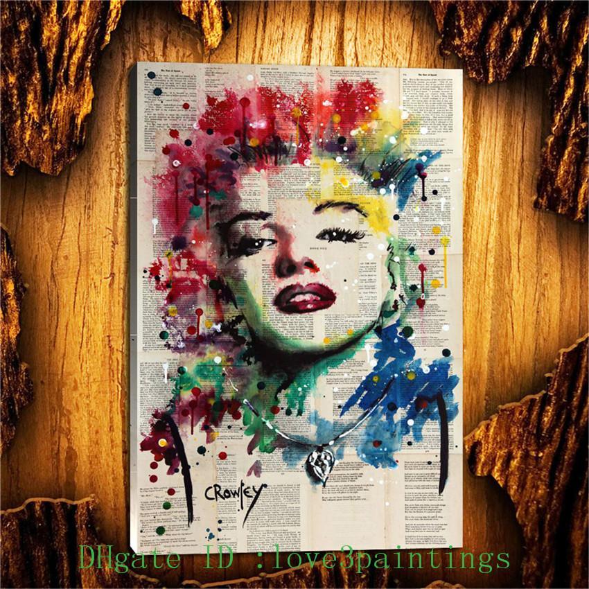 Compre Marilyn Monroe 1, Decoración Para El Hogar Hd Impreso Pintura ...