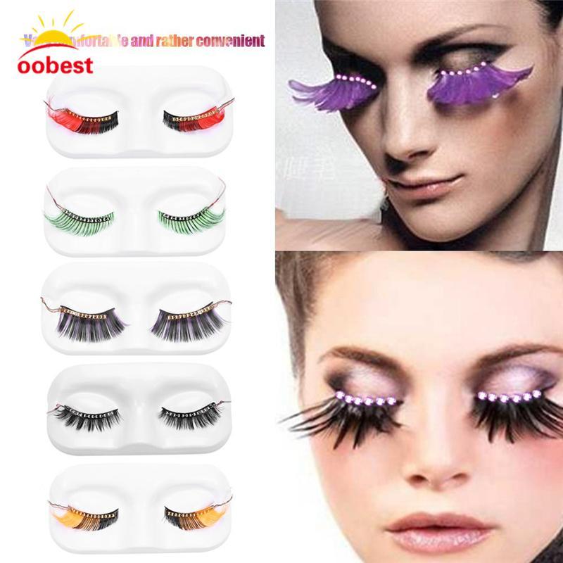 2deb168d3aa ful LED Eyelashes Luminous Shining Eyelash For Christmas Halloween Party Bar  Makeup Unisex LED Light Eyelid False Eyelashes From Sebastiani, $38.4 |  DHgate.