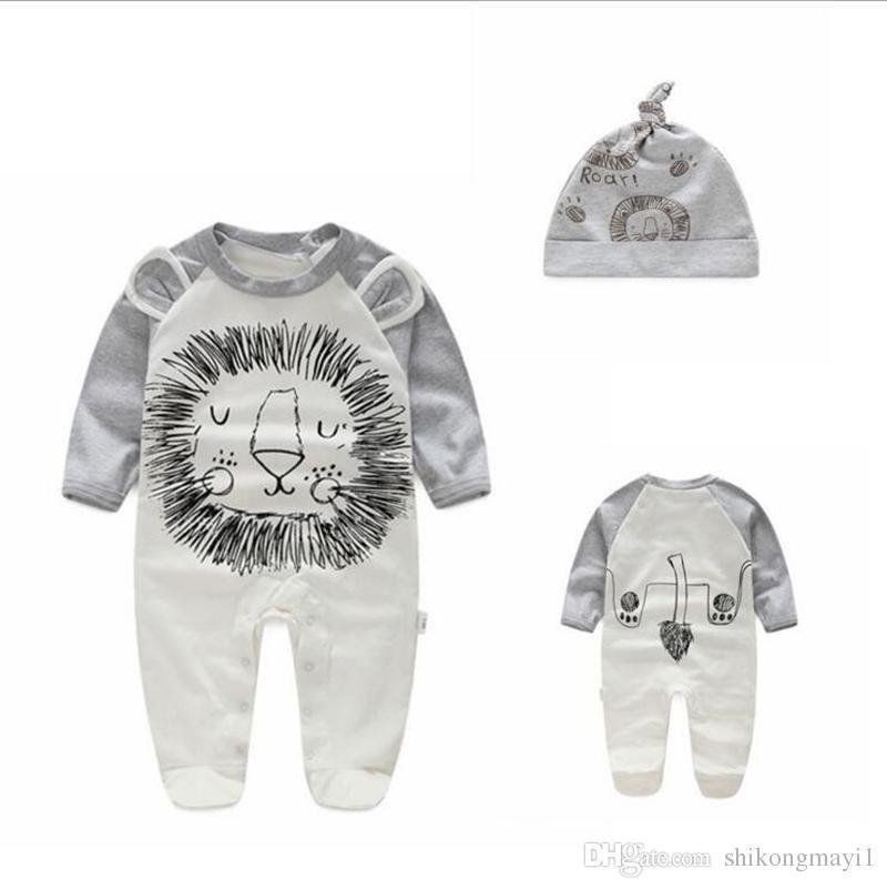 8089b6986 Fashion Joy Spring Autumn Baby Romper 100% Cotton Newborn Baby ...