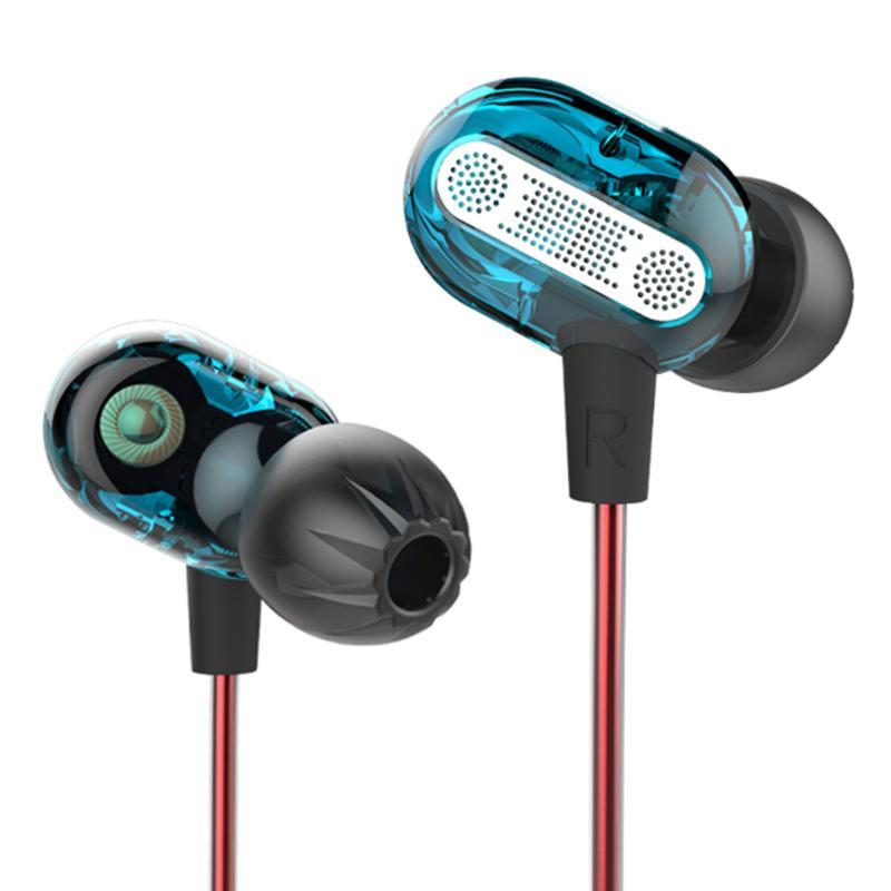 Acquista Dual Driver Alloyseed Universal 3.5mm Wired Earphone Dynamic Dual  Driver HiFi Wired Control In Ear Auricolare Senza Microfono A  15.46 Dal ... a21f7132880b