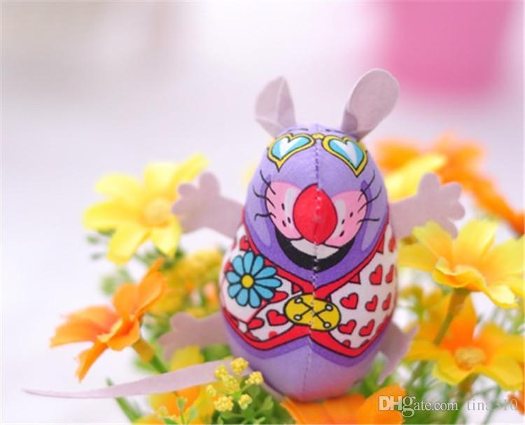 ألعاب القط ذات الجودة العالية والقطط ذات شكل الفأرة الملونة والألعاب المضحكة للأطفال قماش ألعاب الحيوانات الأليفة T3i0067