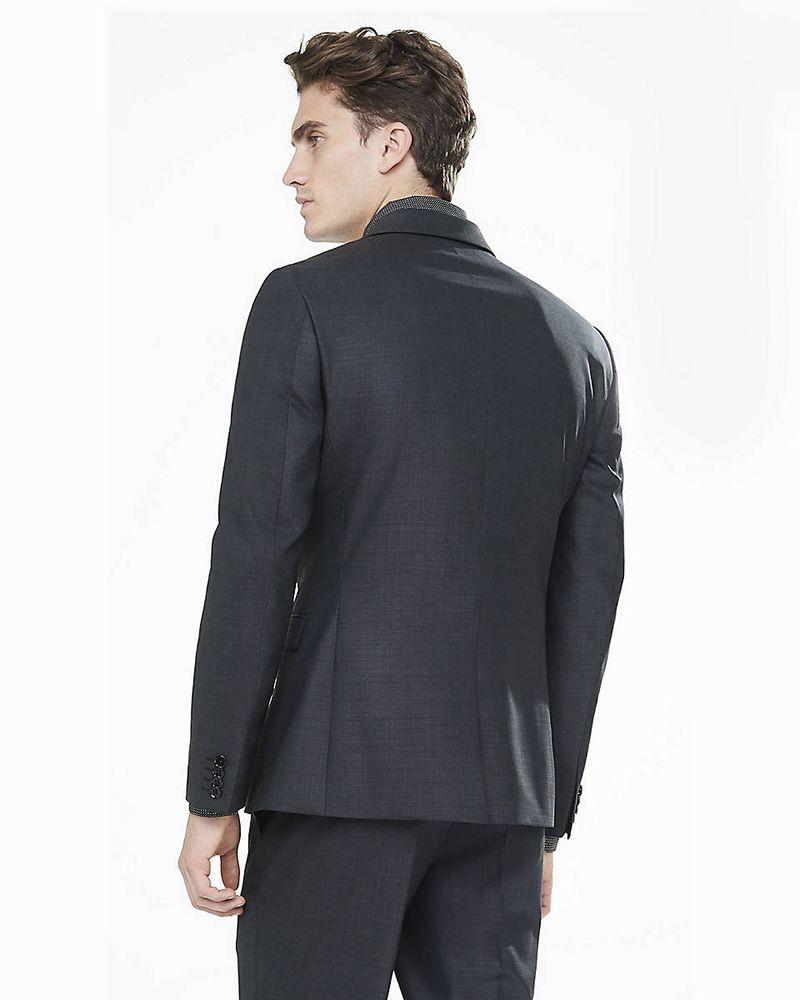 2018 Siyah Erkek Blazer Düğün Suits Resmi Custom Made Uyarlanmi Smokin 2 adet Slim Fit Örgün Sağdıç Balo İyi Adam Ceket + Pantolon Takımlar