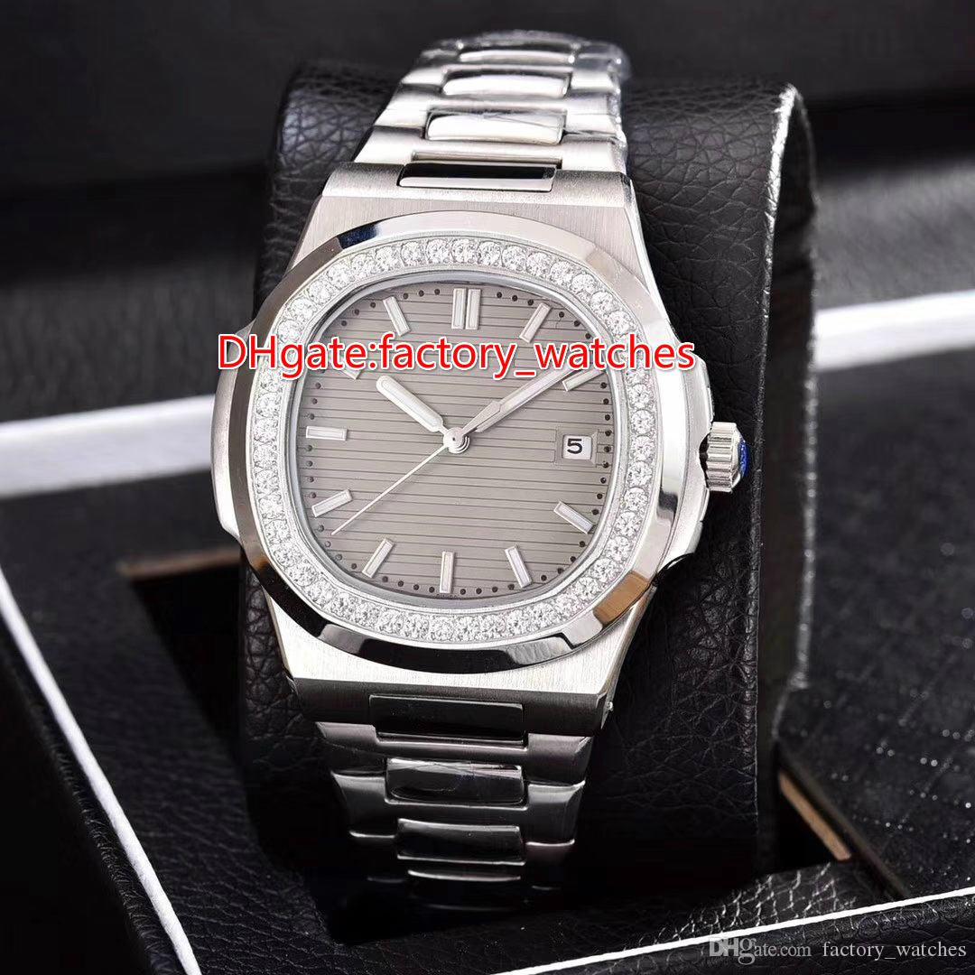 639c69569d4 Top Diamond Bezel Nautilus Wristwatch AAA Quality Sport Nautilus ...