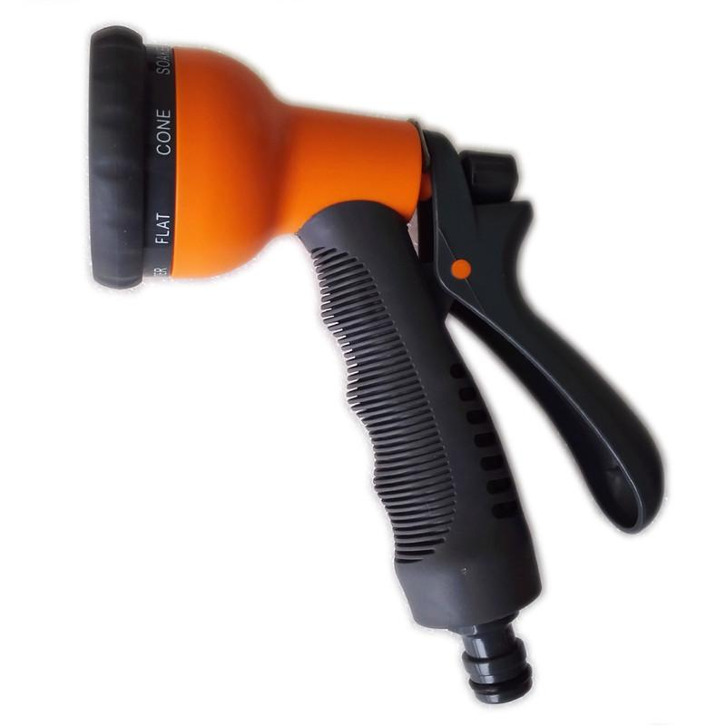 Cheap Sale Multi-function Garden Water Gun For Watering Lawn Water Hose Sprayer Water Nozzle Gun Car High Quality Plastic 2019 Garden Water Guns