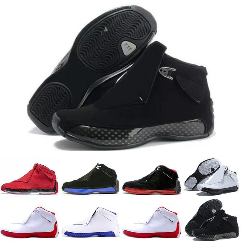 the latest 2767a 14b85 Acquista 18 18s Uomo Scarpe Da Basket Toro Og Asg Nero Bianco Rosso Bred  Royal Blue Athletic Sports Sneakers Da Ginnastica Designer Us 8 13 A  83.19  Dal ...