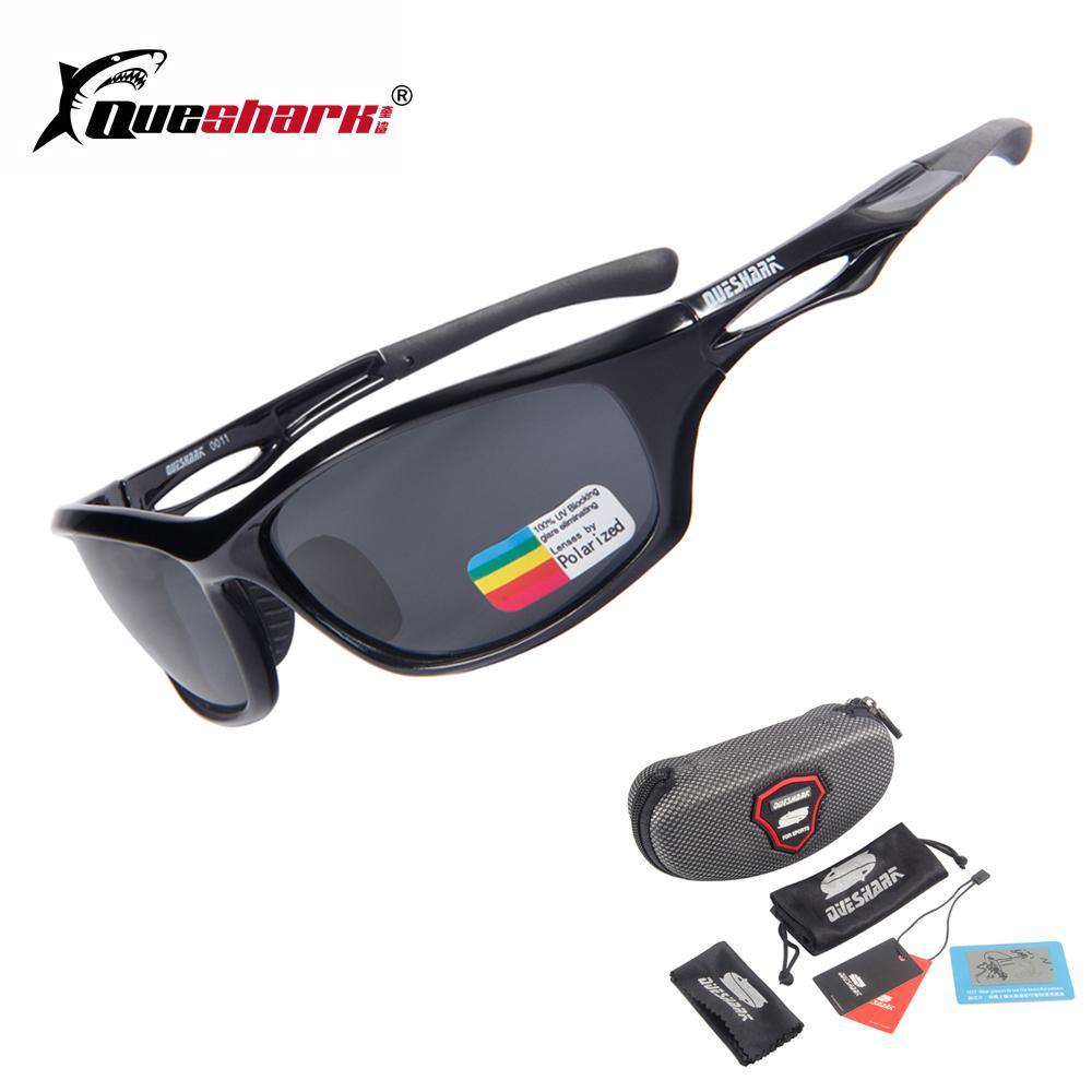 1affd666aa 2019 QUESHARK Cycling Polarized Sunglasses Hiking Camping Running Fishing  Googles Uv400 Protection Sports Eyewear From Cbaoyu