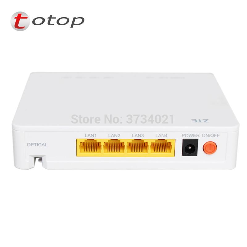 ZTE F660 6 0 GPON ONU ONT Router Support FTTH HGU Mode 1GE 3FE 1TEL USB  wifi Same function as F668 GPON ONU ONT