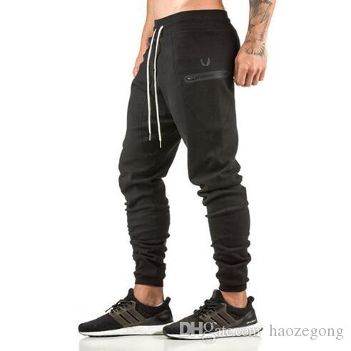 Luggage & Bags Symbol Of The Brand News Mens Gyms Pants Casual Elastic Cotton Fitness Mens Workout Pants Skinny Sportswear Sweatpants Trousers Joggers Pants