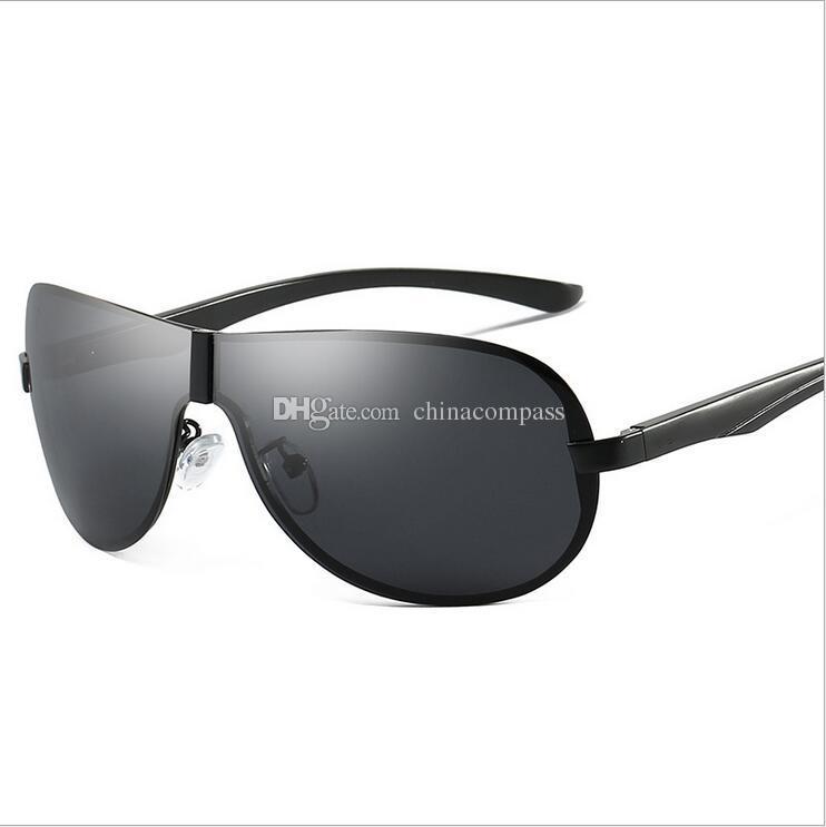 e6be2e59585 New Fashion UV400 Pilot Polarized Sunglasses Beach Flash Eyewear Metal Sun  Glasses Driving Fishing Night Vision Goggles For Men A505 Glasses Frames  Glasses ...