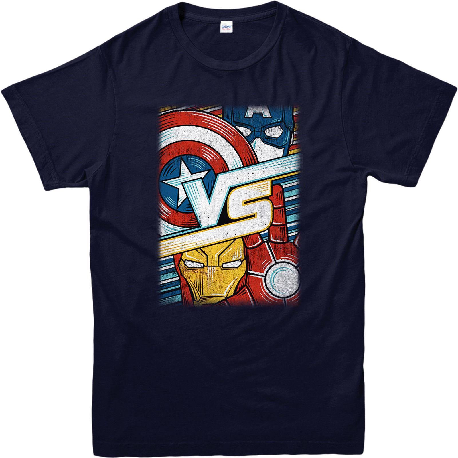 bb493449d5d423 Großhandel Avengers T Shirt