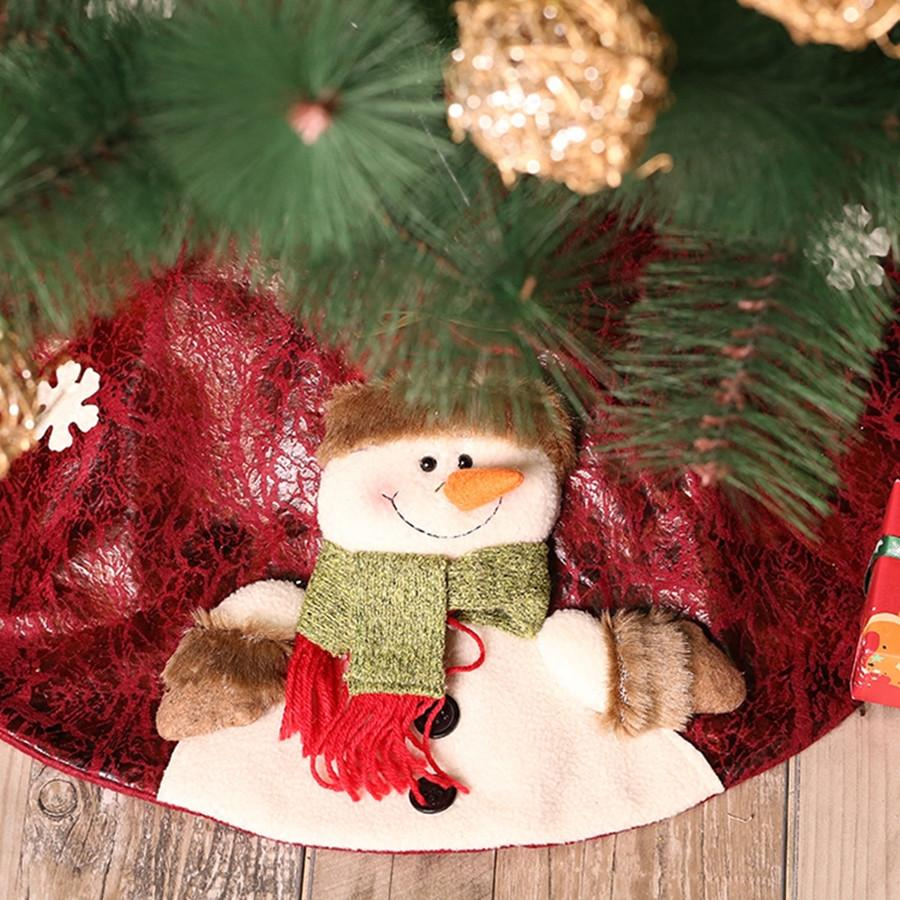 Christmas Decorations For Home Christmas Tree Skirt Decoration Xmas ...