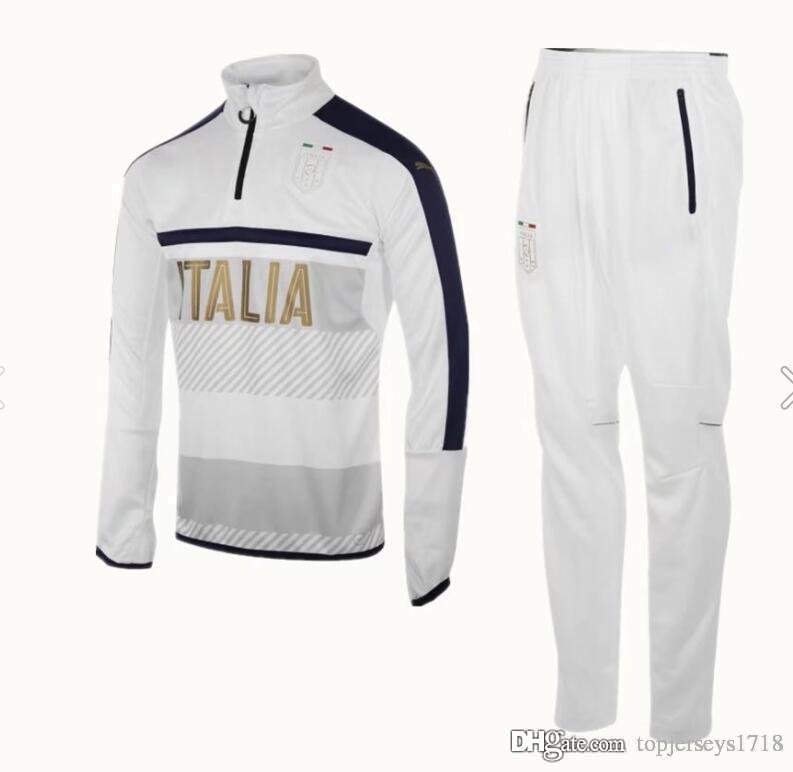 Pullover Großhandel Italien 2017 2018 Jerseys Fußball Trainingsanzug qqSUnFRXwf