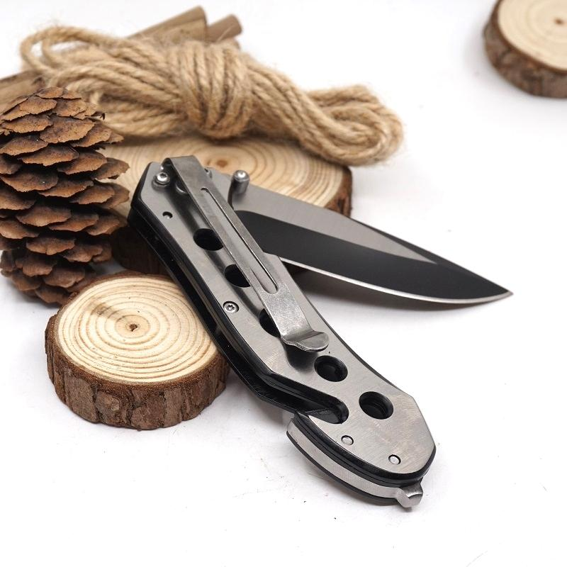 083BS Folding Survival Knife 3cr13 Stainless Steel Blade Material Outdoor Pocket Knives Camping Tools