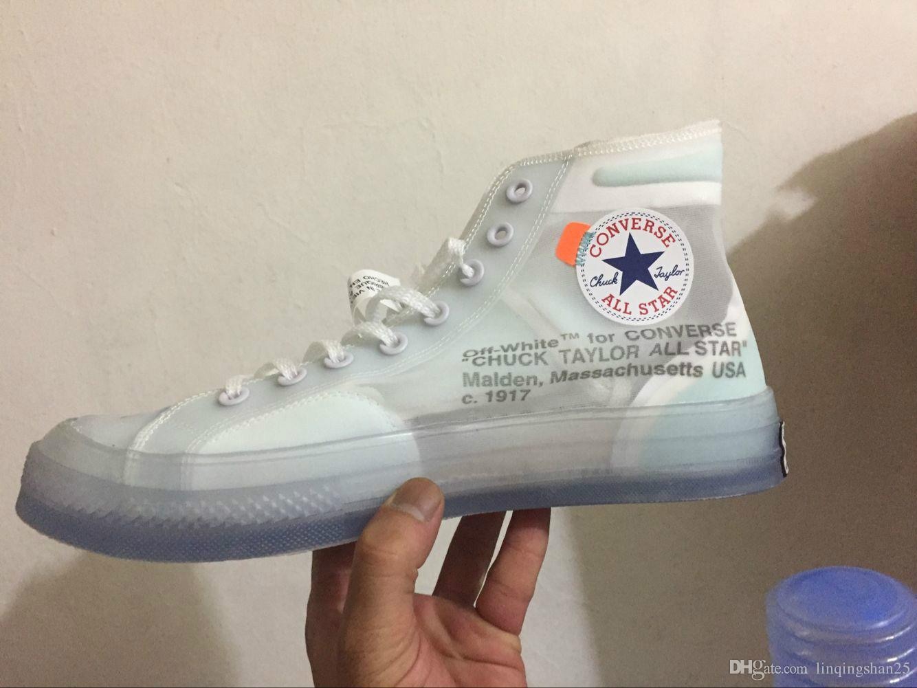 ec582a6d010196 2019 New Designer Shoes 1970s Star Chuck White Ice Blue X Chaussures ...