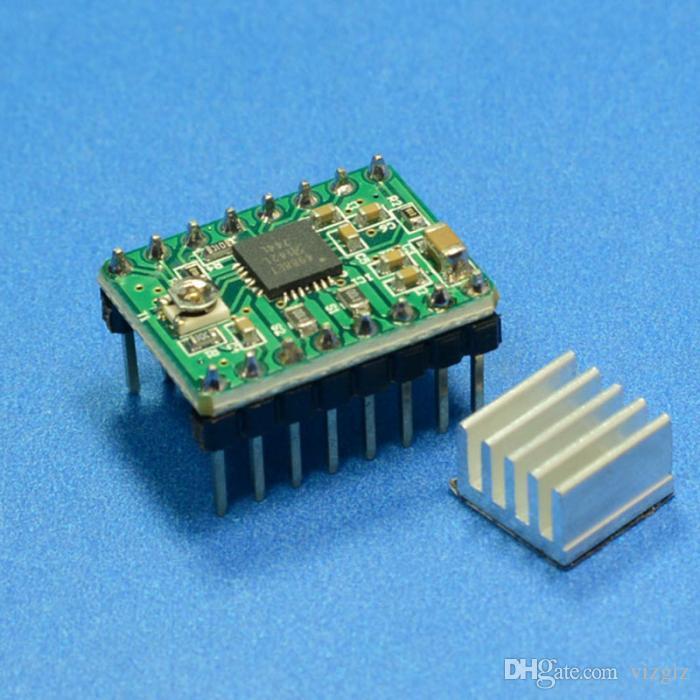 5 Adet 3D Yazıcı Modülü A4988 Step Motor Sürücüsü Polulu StepStick RAMPS RepRap XXM