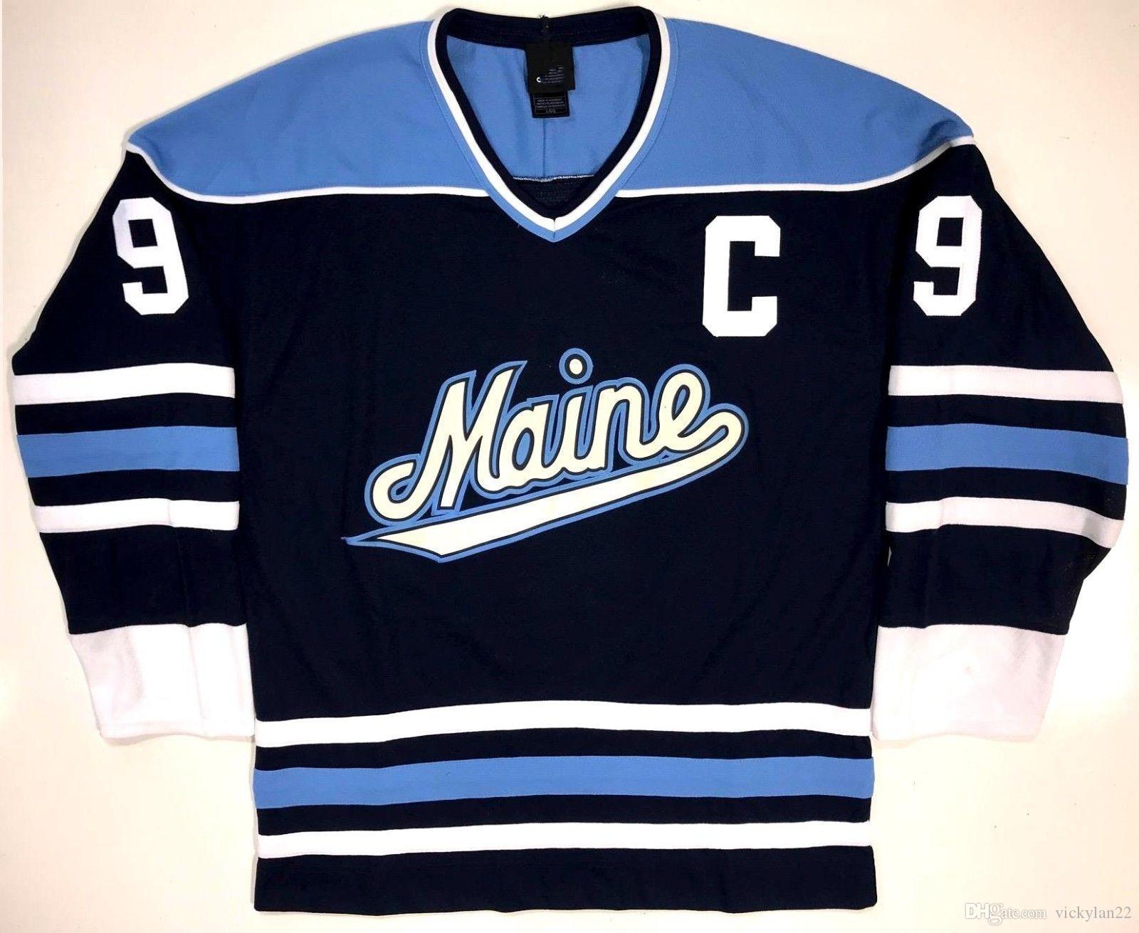... Black Bears   9 Paul Kariya Hockey Jersey Вышивка Сшитая Настройте  Любое Количество И Название Jerseys. Отvickylan22 В Категории  ca999147d5f