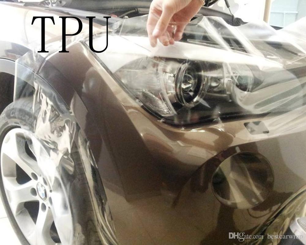 Самовосстановление ТПУ ППФ краска защитная пленка / анти-грязь с 3 слоя размер:1,52*15м  рулон 5x49ft