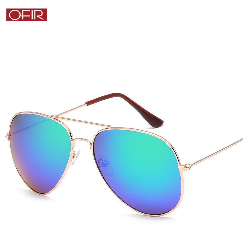 89f661d10cf13 Fashion Men Women Grade Pilot Sunglasses Classic Mirror Brand Double Beams Sun  Glasses Vintage Female Colorful Eyewear UV400 Online Eyeglasses Discount ...
