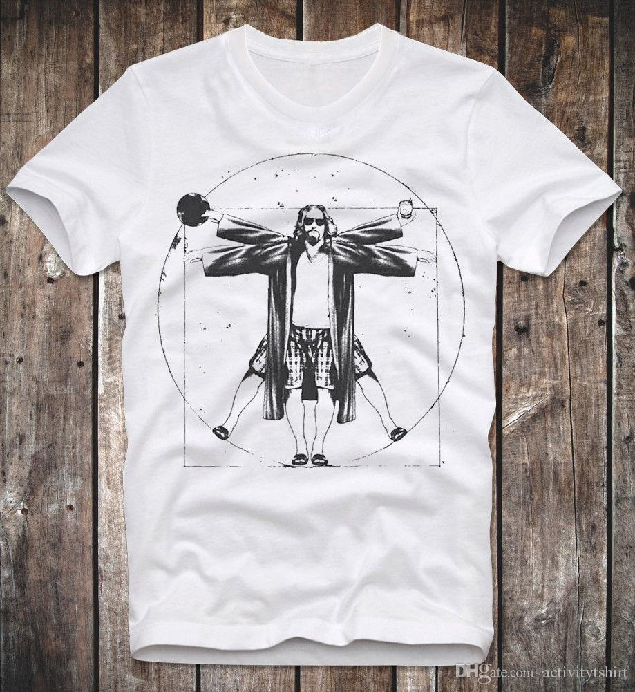 c8465a2f T SHIRT THE BIG LEBOWSKI THE DUDE CULT MOVIE KULTFILM COEN BROTHERS DA  VINCI MAN Tee Shirts Mens T Shirts From Activitytshirt, $12.18  DHgate.Com