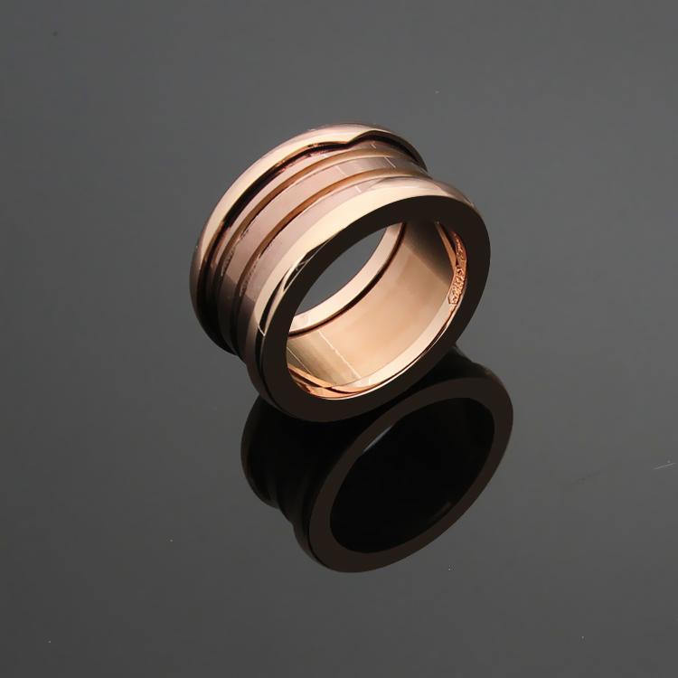 Großhandel B Stieg Goldenen Ring Italien Zwei Logo B Ringe ...