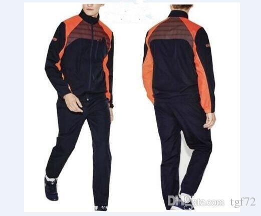 0df3bfeeb7c8 Acheter Lacoste Hommes Sport Suit Léger Respirant Hommes Survêtement  Ensemble Jogging Track CostumesJacket + Pantalons De  52.21 Du Zzqiao18    DHgate.Com