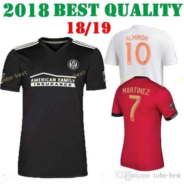 Compre Atlanta United FC Homens Vermelho Casa Branca Camisa De Futebol  Miguel Almiron Josef Martinez Ezequiel Barco Hector Villalba Camisa De  Futebol Kit ... df68df023270d