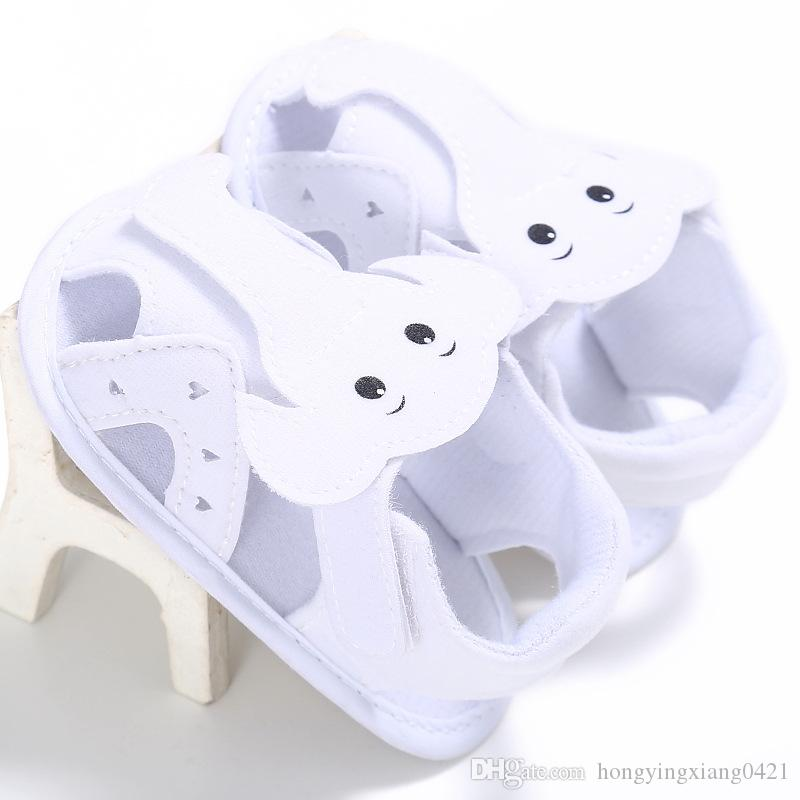 Unisex Shoes Cotton Sandals Summer Cute Elephant Shoes for Kids Baby Girls Boys 12/13/11 Size SH014