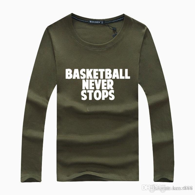 Acheter 2018 Hommes T Shirt À Manches Longues Marque Petit Crochet Requin  Tête De Tigre Respirant Running Sport Basketbal Hoodies Sweats À Capuche  Pull De ... ebb11914c70