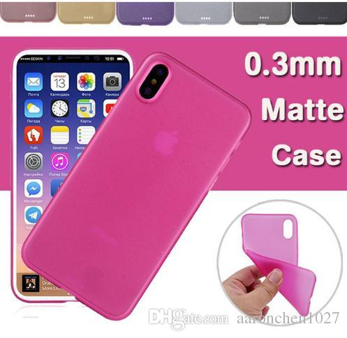 Best Matte slim Soft Case anti-dust for iPhone x 10 8 7 6 6S Plus 5S Colors Phone Cases Back Cover Samsung Galaxy S8 S9 Plus Note 8 OPP Bag