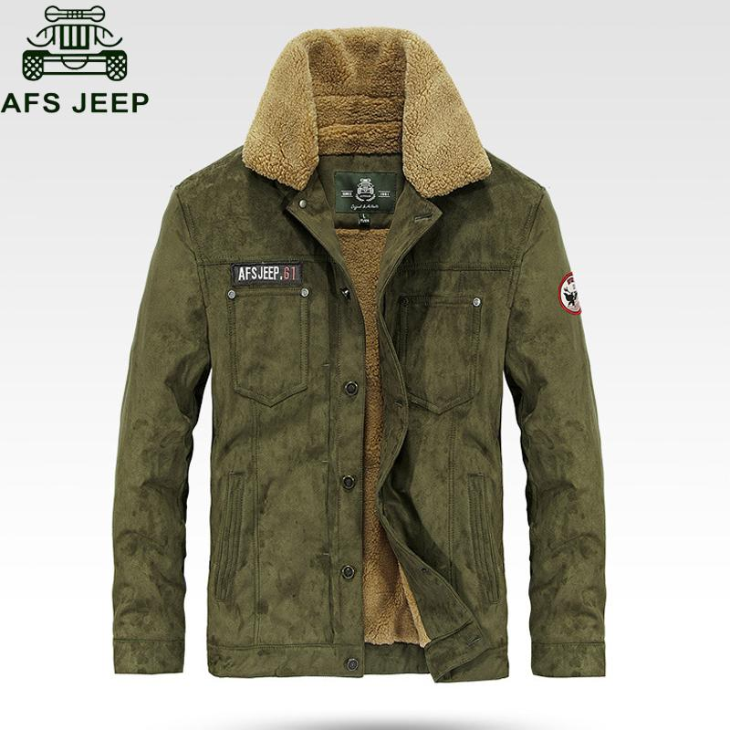 2018 Brand Mens Winter Jacket Army Military Parkas Men Jackets Thick Warm  Fleece Parka Jacket Men Size M 3XL Chaqueta Hombre Man With Coat Blue Jacket  ... 8e9e775b6c4