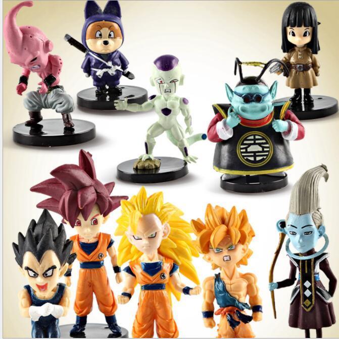 Dragon Ball Z Action Figures Toys Goku Model Toy Anime Figure PVC Collection KKA5617 Novelty Birthday Gifts For Men